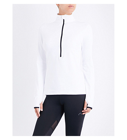 VARLEY Oden jersey top (White