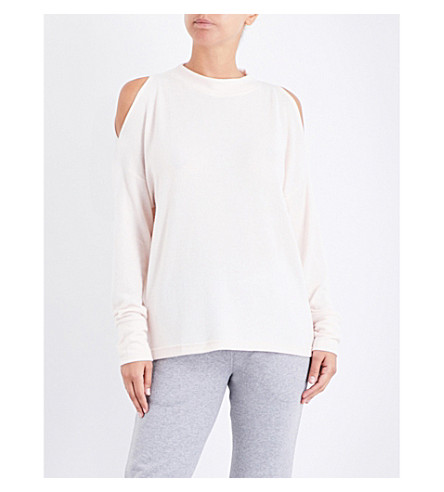 VARLEY Carbon knitted sweatshirt (Blush