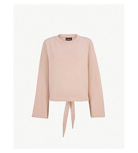 VARLEY Weymouth cotton-blend jumper (Cinder rose