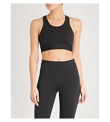 VARLEY Aspen stretch-jersey sports bra (Black
