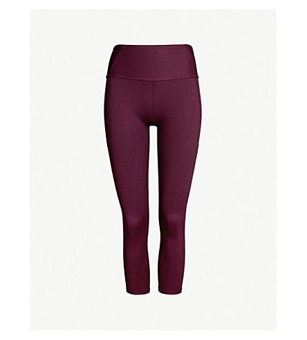 VARLEY Everett stretch-jersey leggings (Potent purple