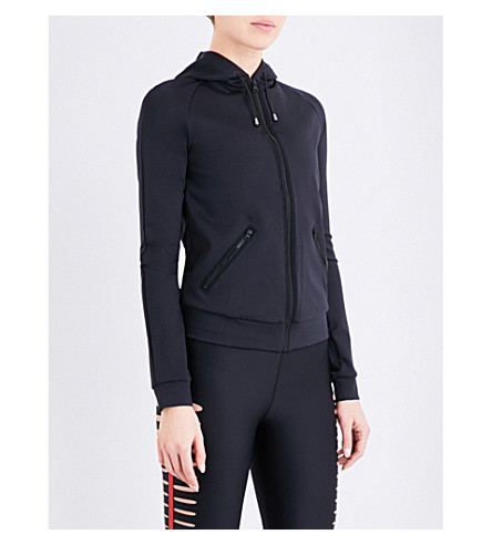 ULTRACOR Frequency Lux stretch-jersey jacket (Nero