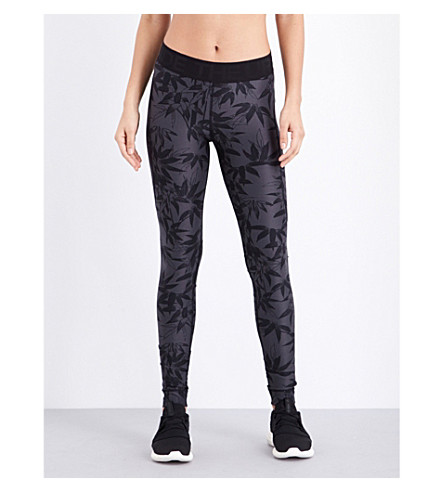THE UPSIDE Bamboo Guru stretch-jersey leggings (Bamboo at dusk