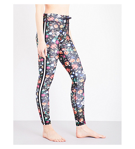 THE UPSIDE Wildflowers stretch-jersey yoga leggings (Wildflowers