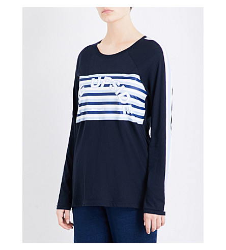 THE UPSIDE Baloo jersey top (Indigo