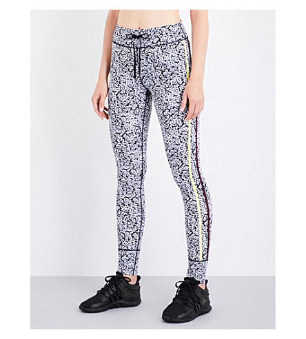 THE UPSIDE Ditsy floral-print stretch-jersey leggings (Ditsy