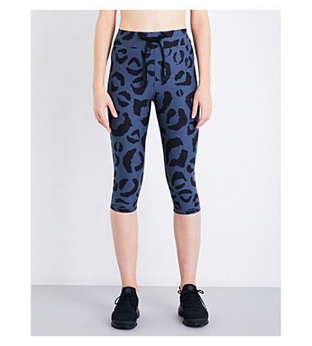 THE UPSIDE Tarzan Power stretch-jersey leggings (Navy/black
