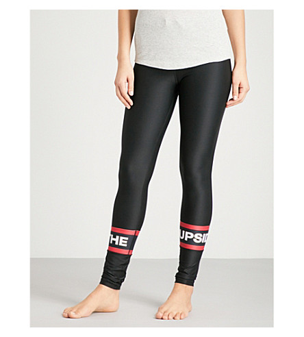 THE UPSIDE Sandia Compression stretch-jersey leggings (Black