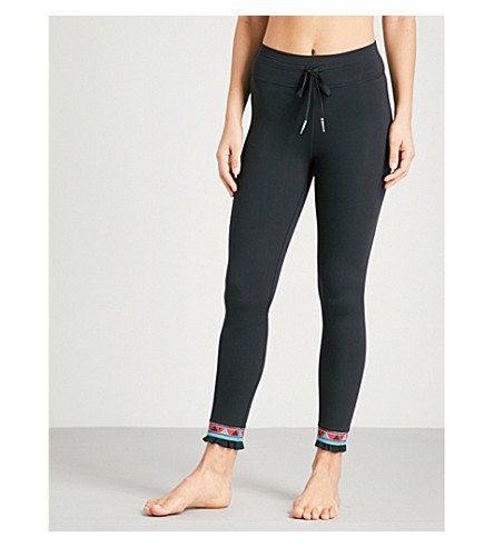THE UPSIDE Bolo Midi stretch-jersey leggings (Black