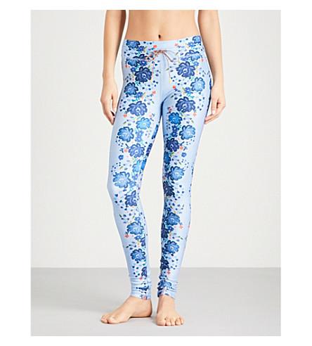 THE UPSIDE Denim Dahlia skinny high-rise stretch-jersey leggings (Blue/multi