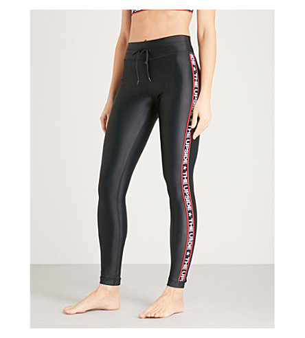 THE UPSIDE Star Fast stretch-jersey leggings (Black