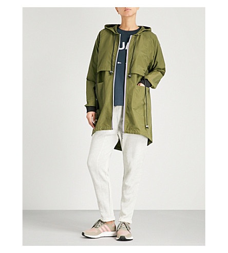 THE UPSIDE Dos Fridas drawstring-panel shell jacket (Khaki