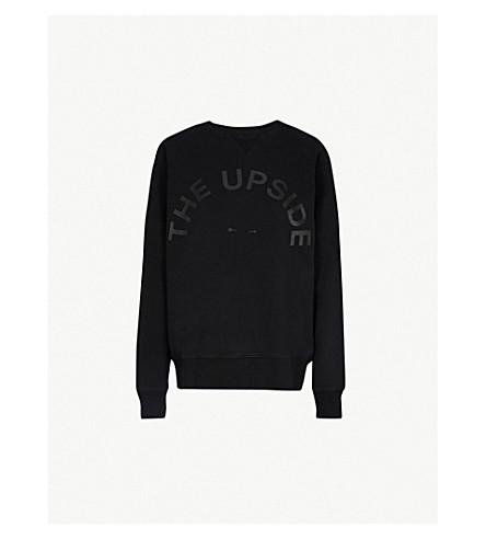 THE UPSIDE Sid cotton-jersey sweatshirt (Black