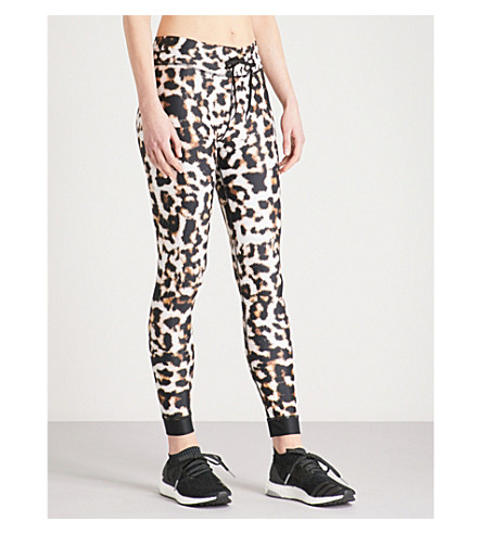 THE UPSIDE Leopard-print stretch-jersey leggings (Leopard