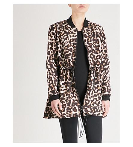 THE UPSIDE Leopard-print shell anorak (Leopard