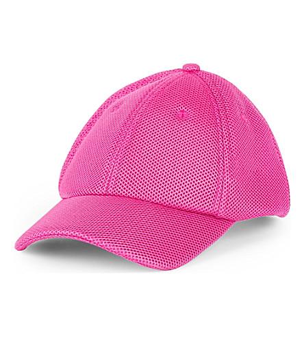 IVY PARK Logo-detail mesh baseball cap (Fushia