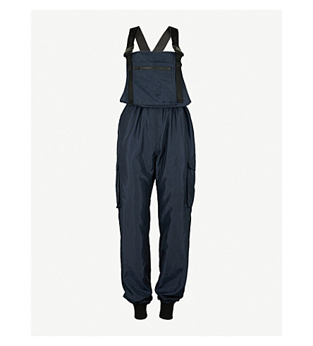 IVY PARK Harness-detail shell jumpsuit (Ink