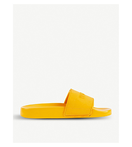 IVY PARK Embossed sliders (Old+gold