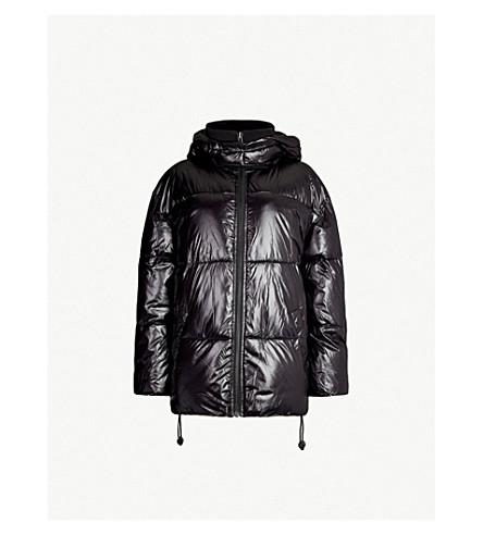 IVY PARK Hooded padded shell jacket (Black