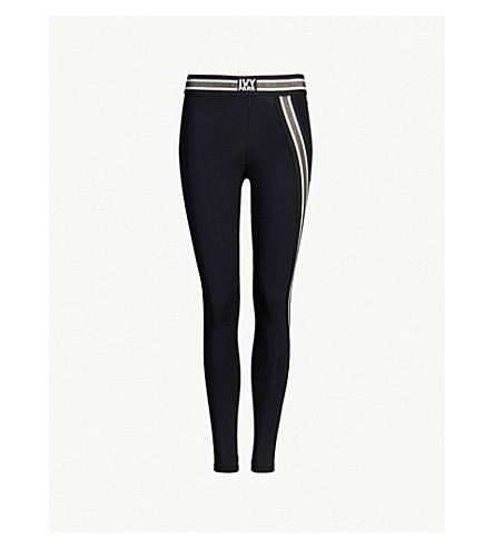 IVY PARK Active stretch-jersey leggings (Black