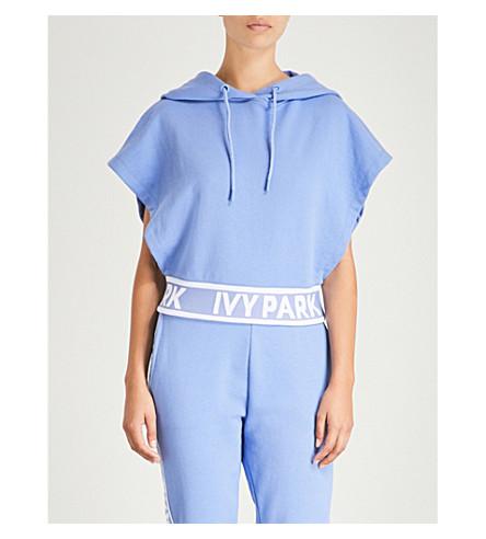 Wedgewood blend PARK cotton IVY blue print Logo IVY hoody PARK P8pgww