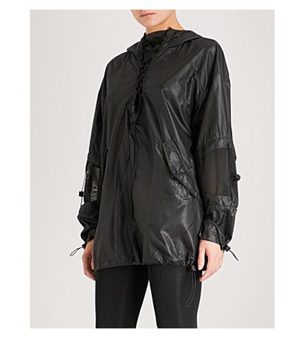 IVY PARK Lace-detail shell jacket (Black