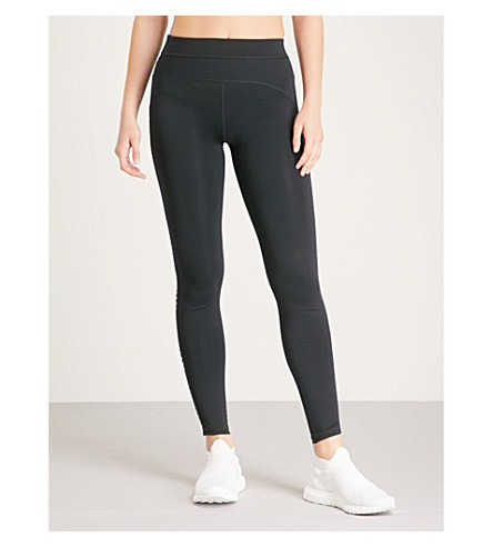 IVY PARK Logo-sides stretch-jersey leggings (Black