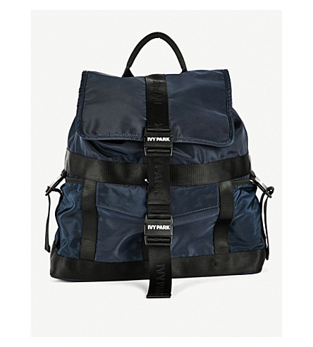 IVY PARK Parachute shell backpack (Ink