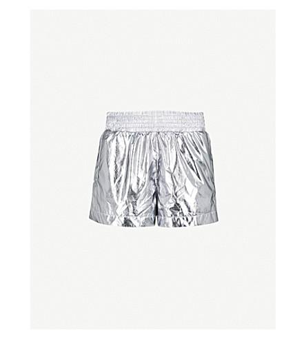 IVY PARK Metallic shell shorts (Metallic