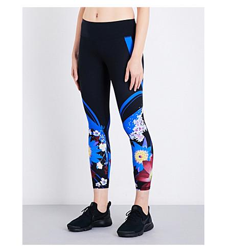 SWEATY BETTY Power 7/8 stretch-jersey leggings (Naito+print