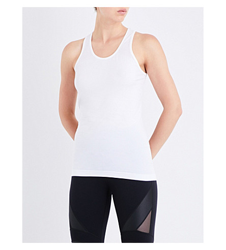 SWEATY BETTY Athlete crepe vest (White