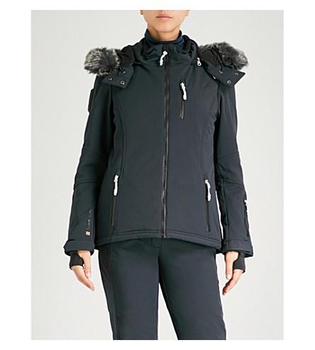 SWEATY BETTY探索弹力壳滑雪夹克 (黑色