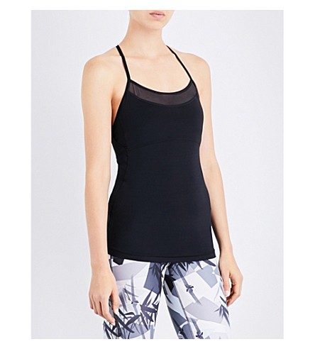 SWEATY BETTY Harvest jersey top (Black
