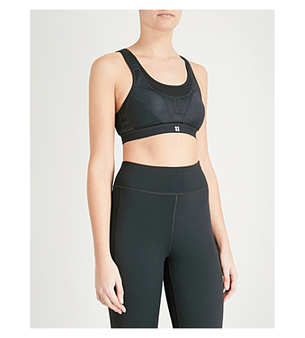 SWEATY BETTY Stamina running bra (Black