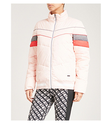 SWEATY BETTY Reggie shell puffer jacket (Liberated+pink