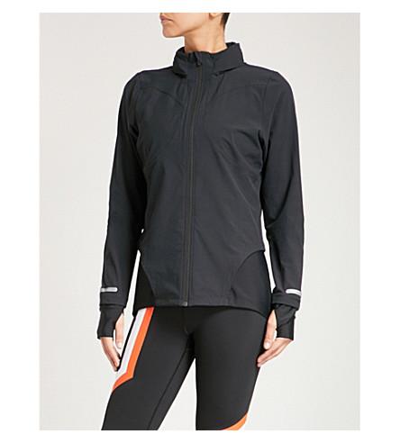 SWEATY BETTY Fast Track waterproof jacket (Black