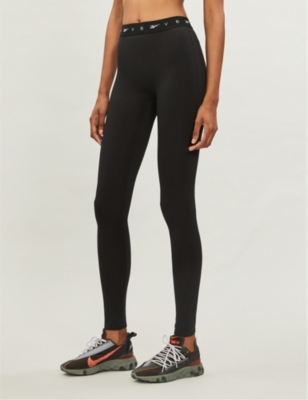 Performance stretch-jersey leggings