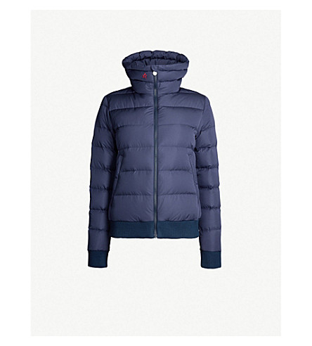 PERFECT MOMENT Superstar shell-down jacket (Navy