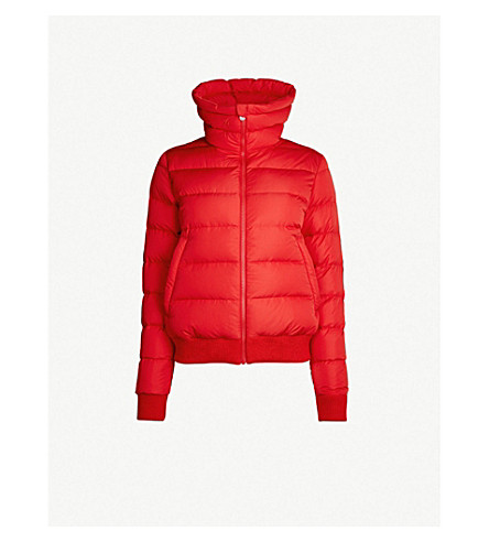 PERFECT MOMENT Superstar shell-down jacket (Red