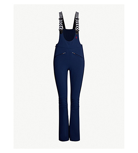 PERFECT MOMENT Isola Racing shell ski trousers (Navy