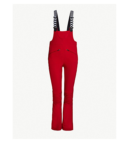 PERFECT MOMENT Isola Racing shell ski trousers (Red