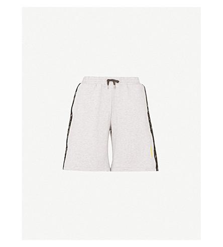 SAPOPA Lakers cotton-jersey shorts (Grey