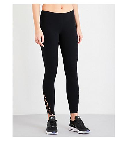 SAPOPA Lilla stretch-jersey leggings (Nero