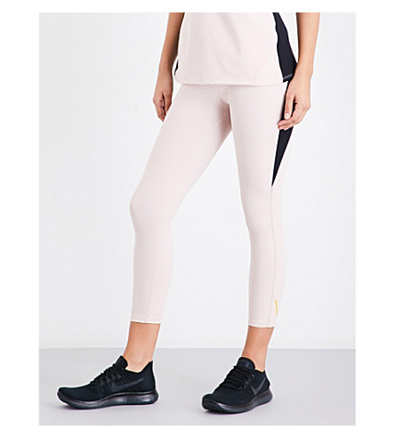 SAPOPA Aria stretch-jersey leggings (Pink
