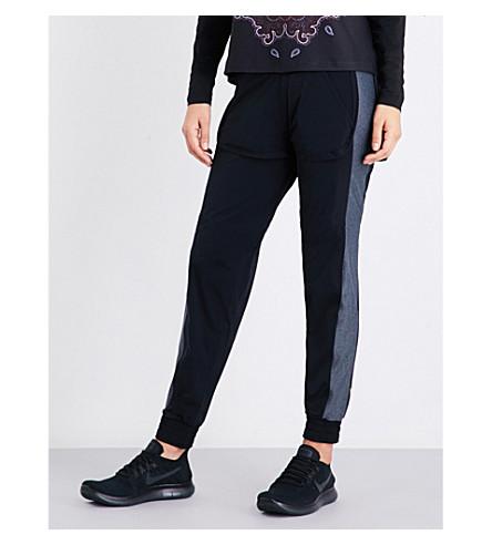 SAPOPA Free stretch-jersey leggings (Grey/black