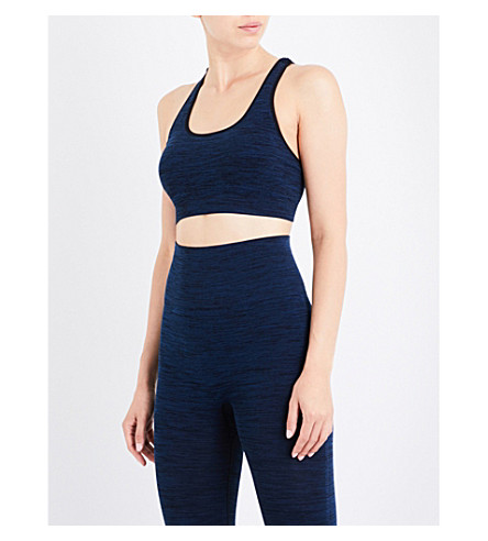 PEPPER & MAYNE Multi Strap sports bra (Japanese+denim