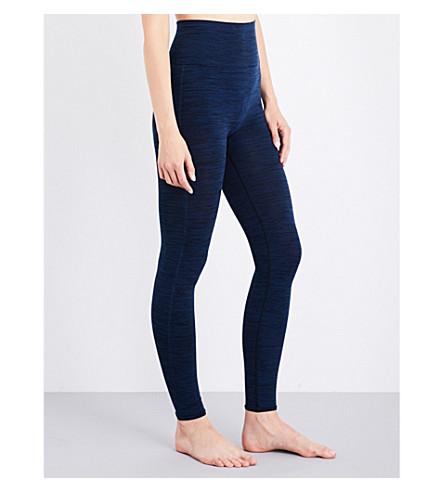 PEPPER & MAYNE Compression stretch-jersey leggings (Japanese+denim