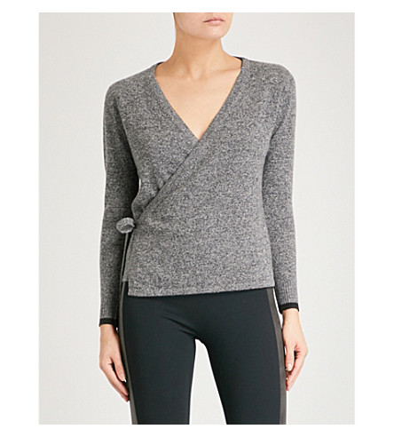 PEPPER & MAYNE V-neck cashmere wrap cardigan (Taos