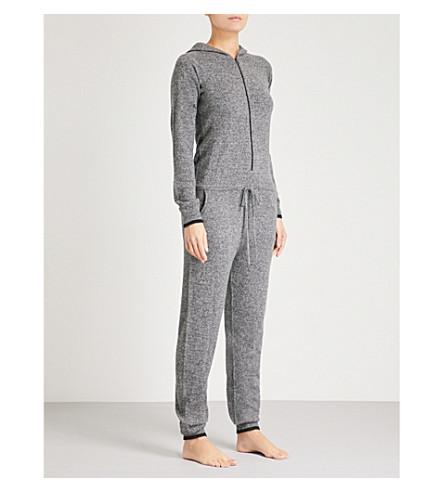 PEPPER & MAYNE Hooded cashmere onesie (Taos