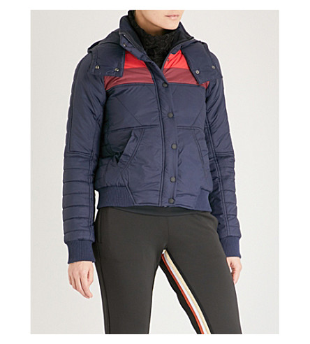 LNDR Thermally insulated puffer jacket (Navy